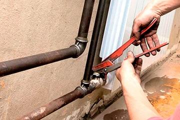 Замена металлических труб отопления