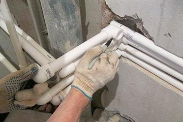 Замена пластиковых труб отопления Донецк