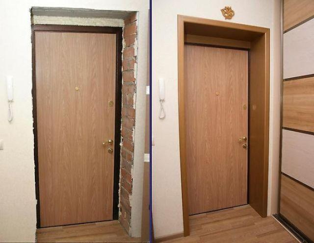 Отделка откосов дверей Донецк